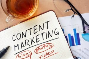 content marketing for appointments