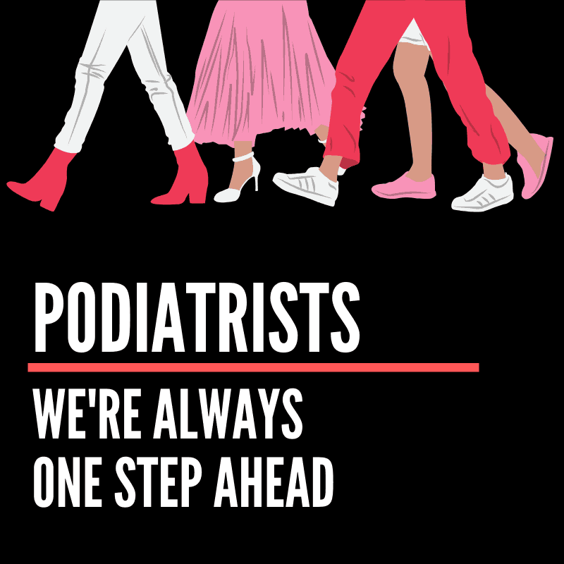 podiatry image of people walking