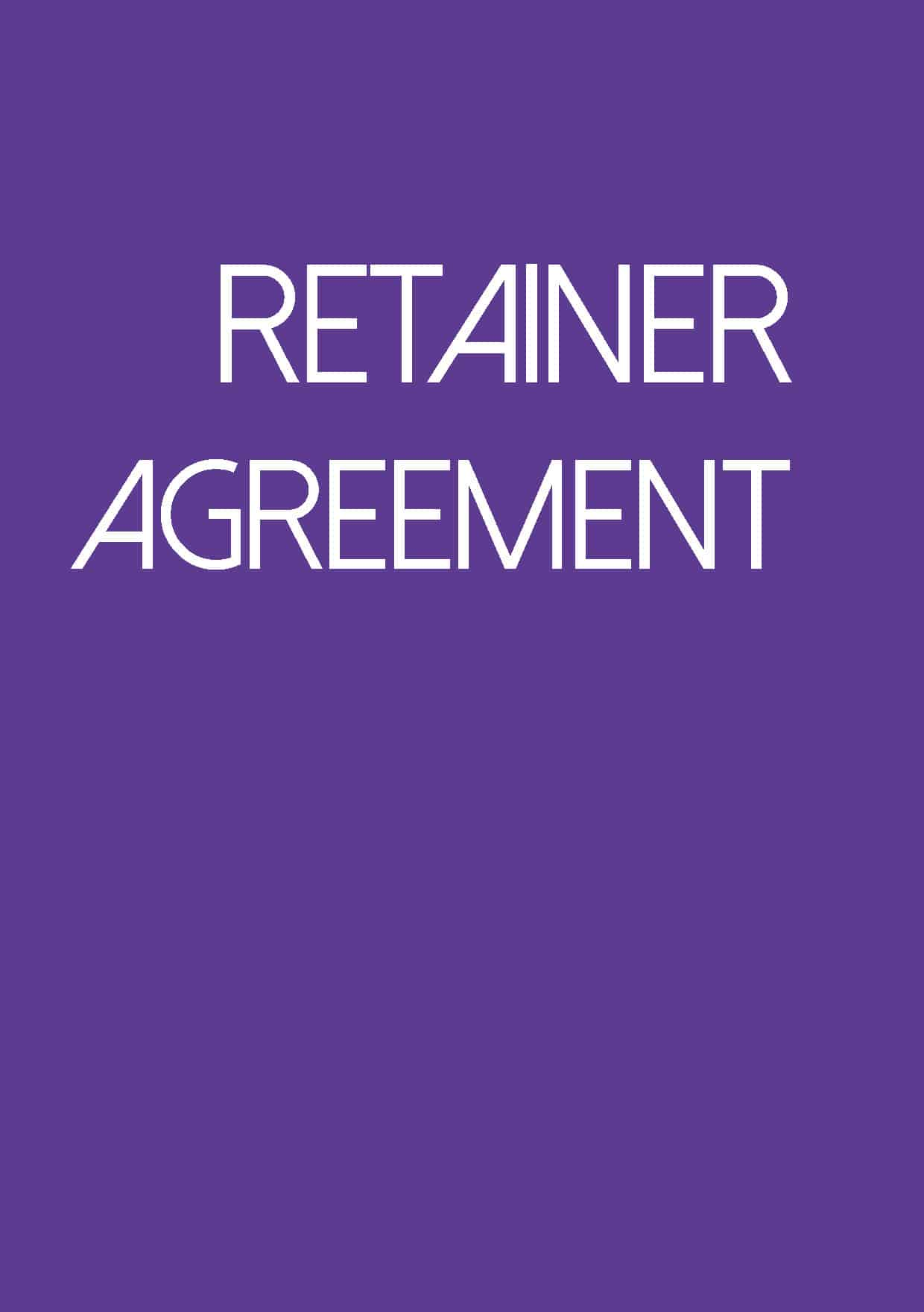 retainer agreement image